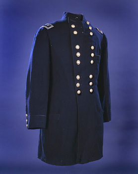 Major General George McClellan's Coat Worn at Antietam,  Name: McClellan, George B.
