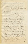 Representative image for Albert Bierstadt letter collection, 1860-1900