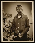 Representative image for Jacob Lawrence and Gwendolyn Knight papers, 1816, 1914-2008, bulk 1973-2001