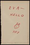 Representative image for Eva Lee Gallery records, 1921-1973