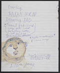 Representative image for Jules Olitski notes to Joan Olitski, 1981-2004