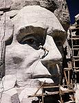 Representative image for Mount Rushmore monument photographic transparencies, [circa 1938-1939]