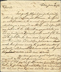 Representative image for Robert C. Graham collection of artists' letters, 1783-1935, bulk 1804-1877