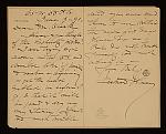 Representative image for Eastman Johnson letters, 1851-1899