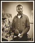Representative image for Jacob Lawrence and Gwendolyn Knight papers, 1945-2005