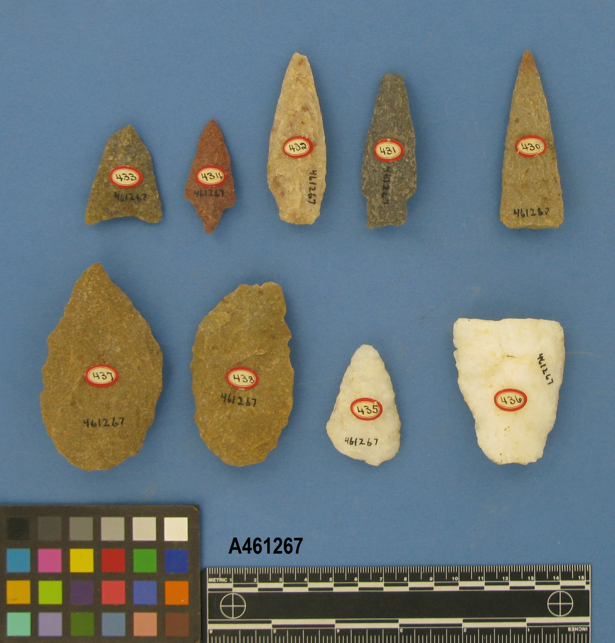 Projectile Points And Blades