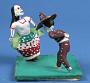 Modeled Clay Figures: Dancers