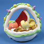 Modeled Candy Fruit Basket