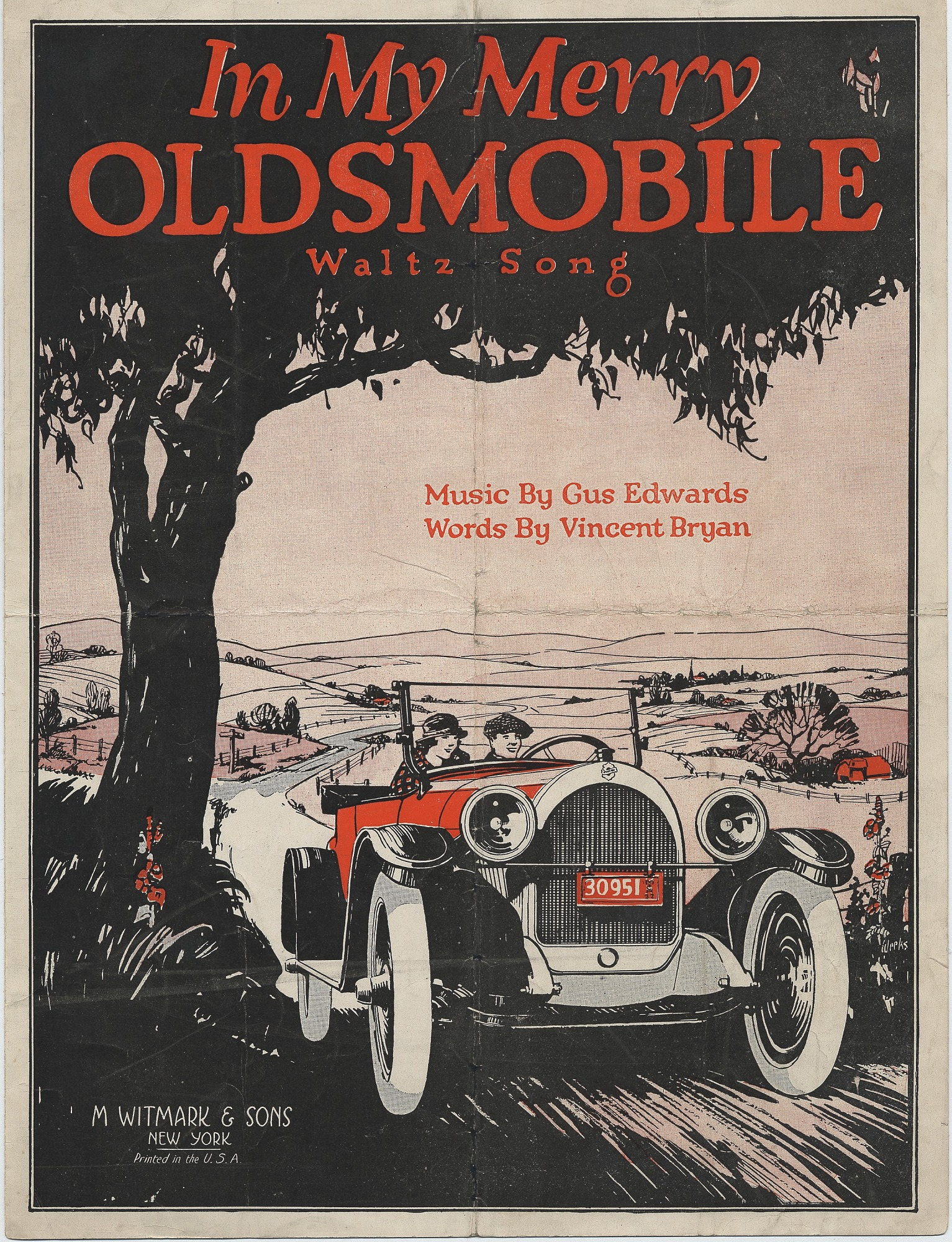 In My Merry Oldsmobile, 1905