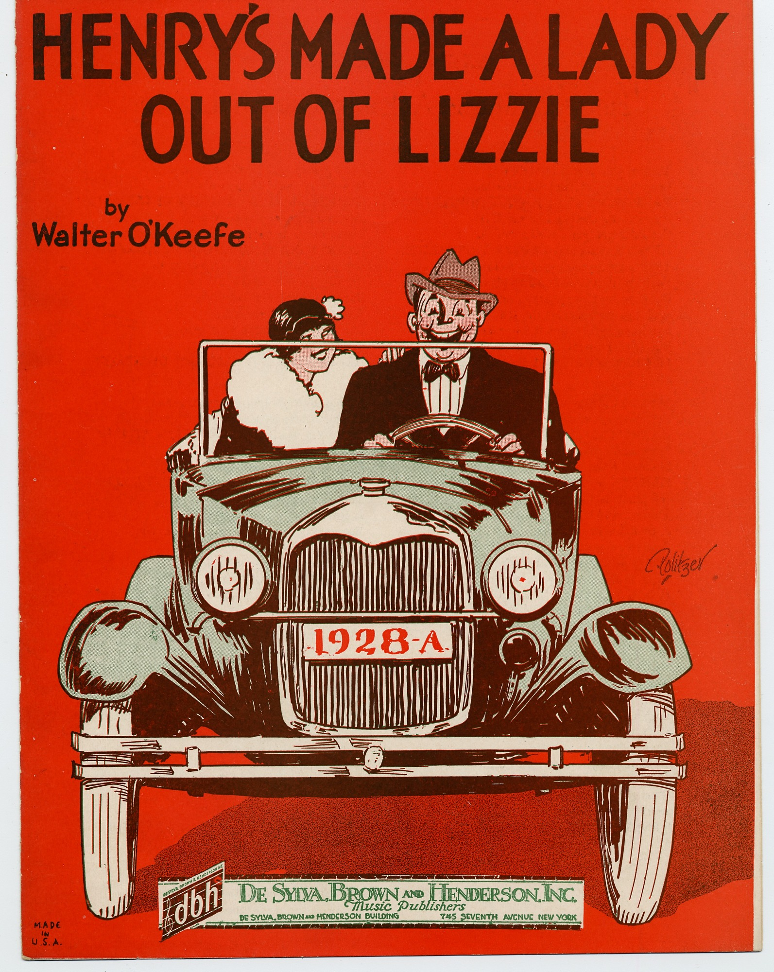 Henry's Made a Lady out of Lizzie, 1928