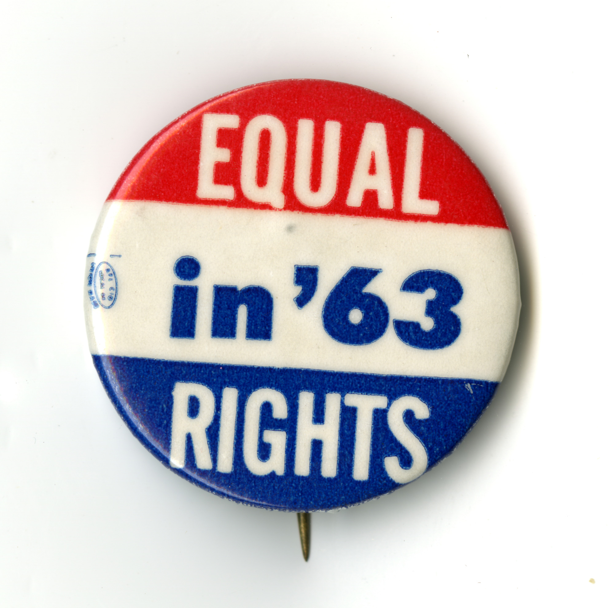 Button, Equal Rights in '63