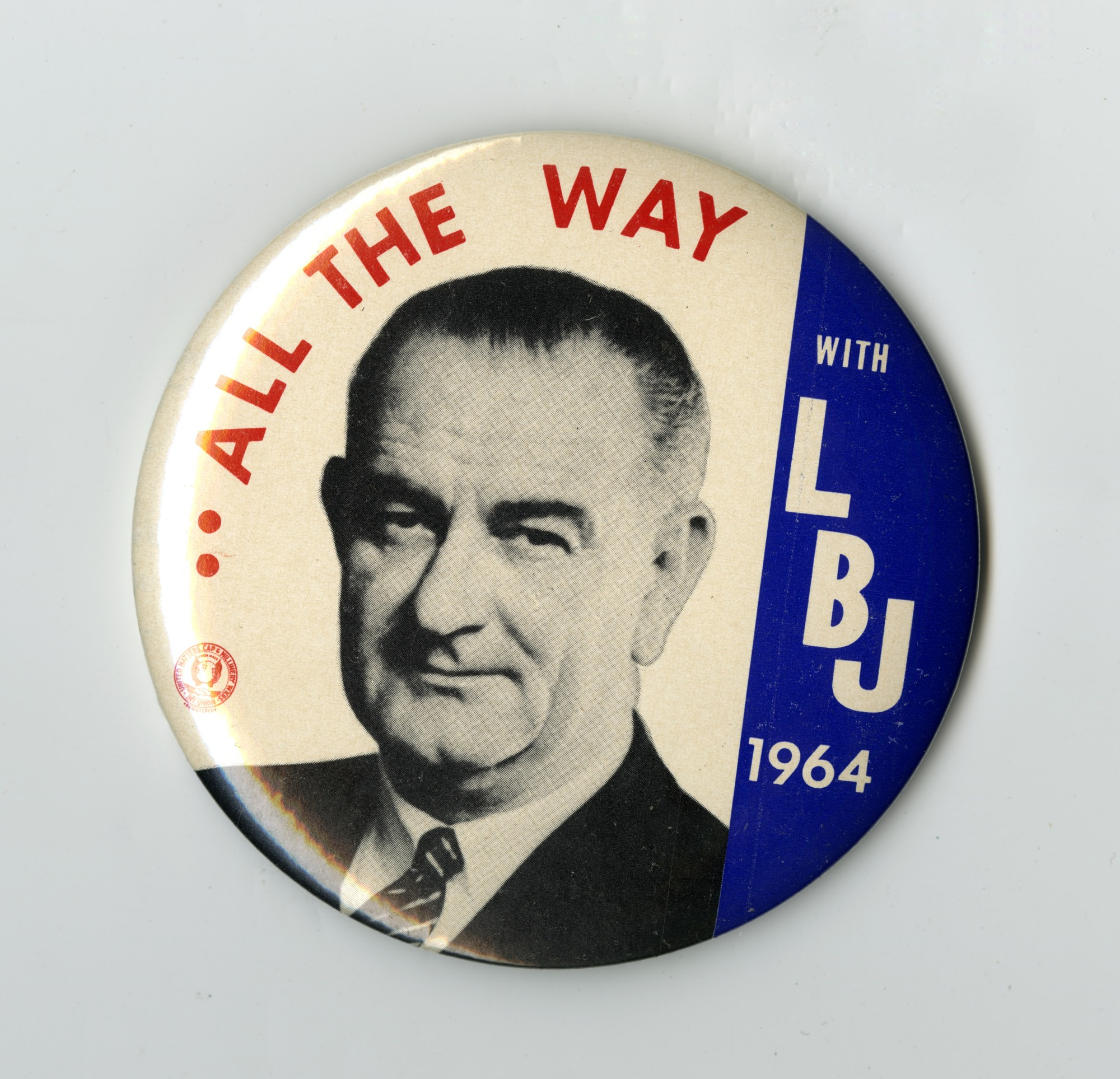 Button, Johnson 1964 Campaign, All the Way with LBJ