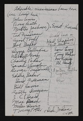 List of jazz musicians who visited Gertrude Abercrombie's home