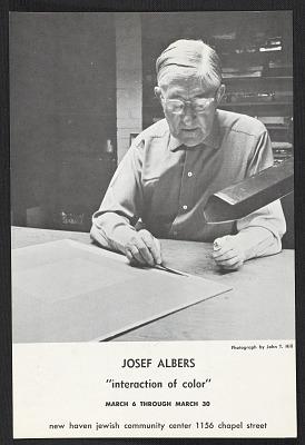 Josef Albers papers, 1929-1970