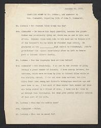 Typescript of an interview of Elizabeth Alexander