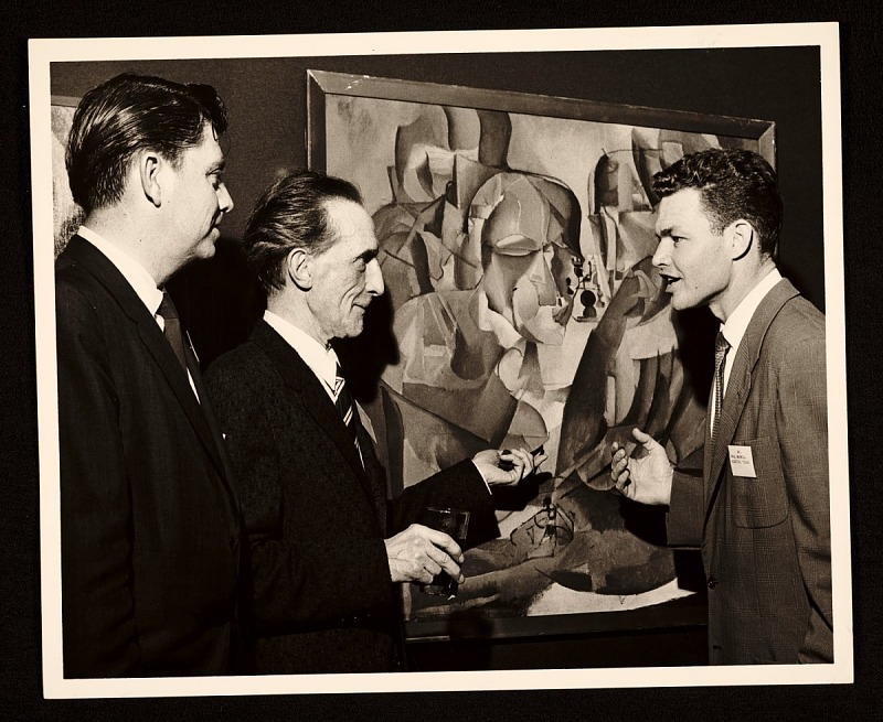 Image 1 for Lowell Collins, Marcel Duchamp, and Paul Maxwell at the American Federation of Arts 48th Annual Convention