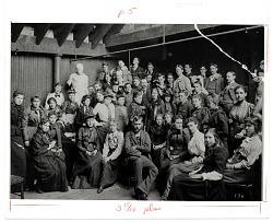 Art Students League Class ca. 1885