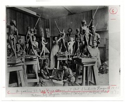 Augustus Saint-Gauden's Class at Art Students League 1892 or 1893