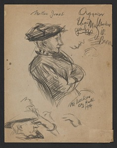 images for Sketch of Mother Jones-thumbnail 1