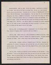 Diary transcript
