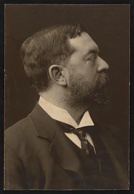 Studio portrait of John Singer Sargent