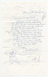 Enrique Riverón, Coconut Grove, Fla. to Giulio V. Blanc, Miami, Fla.