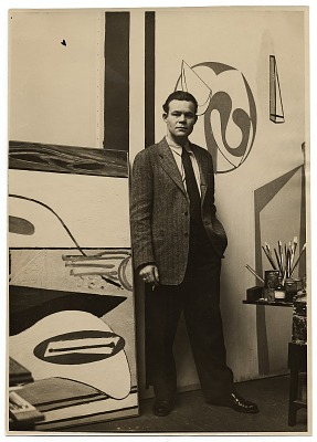 Harry Bowden in studio