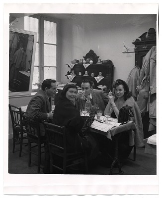 Al and Frances Bernstein with friends