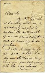 George Catlin Letter