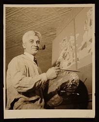 Carlo Ciampaglia at work