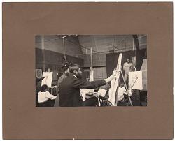 Kenyon Cox teaching drawing