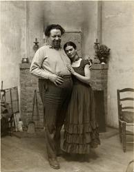 Portrait of Frida Kahlo and Diego Rivera