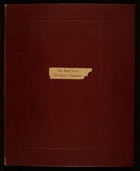 Elaine de Kooning scrapbook relating to Caryl Chessman