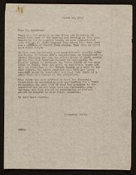 Edith Gregor Halpert letter to Jacob Lawrence