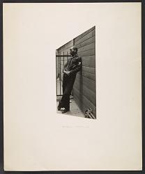 Jacob Lawrence in a Coast Guard uniform