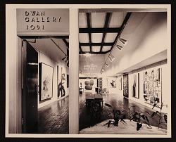"""15 of New York"" exhibition, Dwan Galleries"