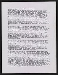 Lawrence Fane brief narrative