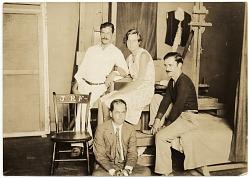 Group in Pearl Street Studio