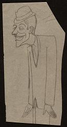 Caricature of Dick Van Dyke