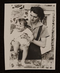 Elsie Driggs and her daughter, Merriman