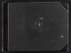 Matilda Gay scrapbook, no. 2