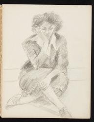 Lena Gurr sketchbook No. 7