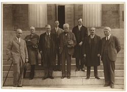 Charles Webster Hawthorne in group photo
