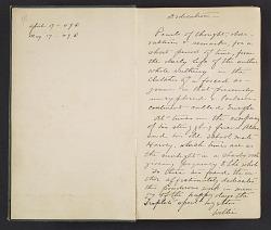 William Penhallow Henderson diary