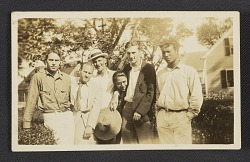 William H. Johnson and friends in Provincetown