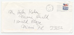 Emilio Sanchez, New York, N.Y. to Helen L. Kohen, Miami, Fla.