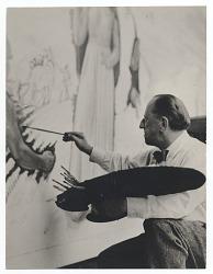 Leon Kroll at work