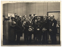Artists at the Trinational Exhibition in Paris 1925