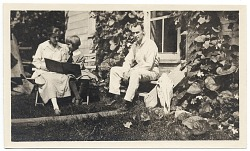 Walt Kuhn and his family