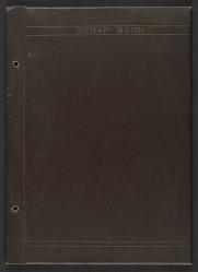 Scrapbook of printed materials relating to Yasuo Kuniyoshi